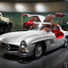 Mercedes 300 SL Gullwing, Mercedes muzejs