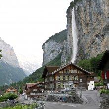 Lauterbrunnen ūdenskritums, Šveice