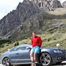 Mans prieks un hobijs - braukšana Alpos