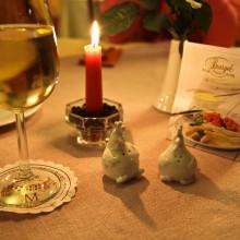 Kādā Mērsburgas restorānā, pie Bodensee